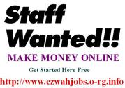STAFF Required (Part-Time)(URGENTLY)